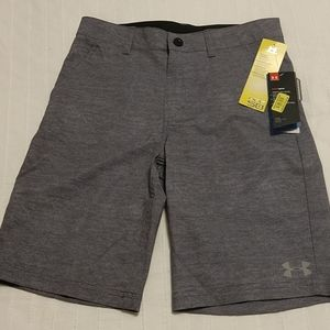 Boys Under Armour UPF 50 Stretch Shorts